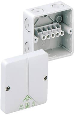 Forbindelsesdåse (L x B x H) 80 x 80 x 52 mm Spelsberg Abox 025-2,5² Grå IP65