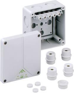 Forbindelsesdåse (L x B x H) 110 x 110 x 67 mm Spelsberg Abox 060-6² Grå IP65