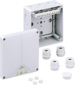 Forbindelsesdåse (L x B x H) 140 x 140 x 79 mm Spelsberg Abox 100-10² Grå IP65