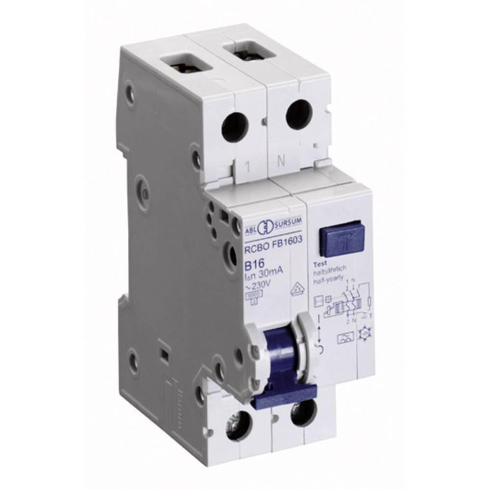 FID Zaštitni prekidač 1-polni 10 A 230 V ABL Sursum RB1003
