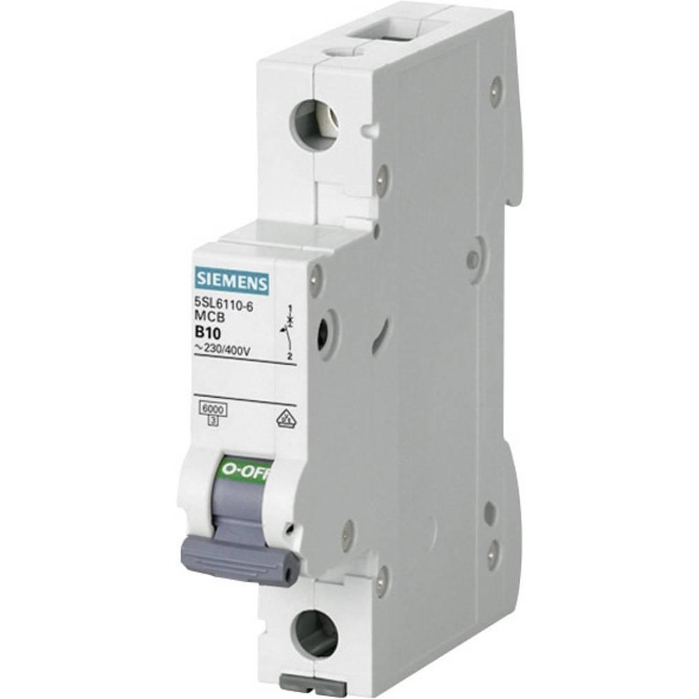 Ledningssikkerhedsafbryder 1-polet 10 A Siemens 5SL6110-7