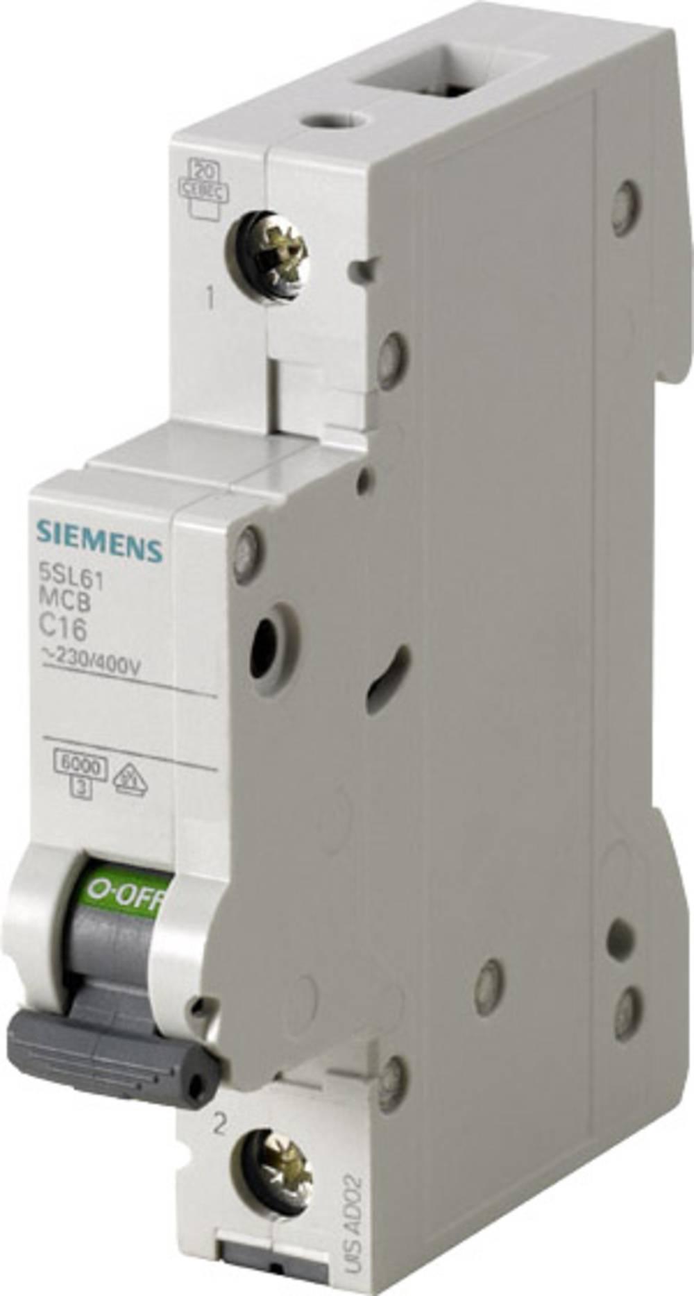 Instalacijski prekidač 1-polni 13 A Siemens 5SL6113-6
