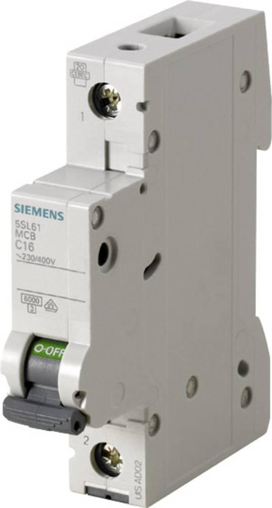 Ledningssikkerhedsafbryder 1-polet 20 A Siemens 5SL6120-7