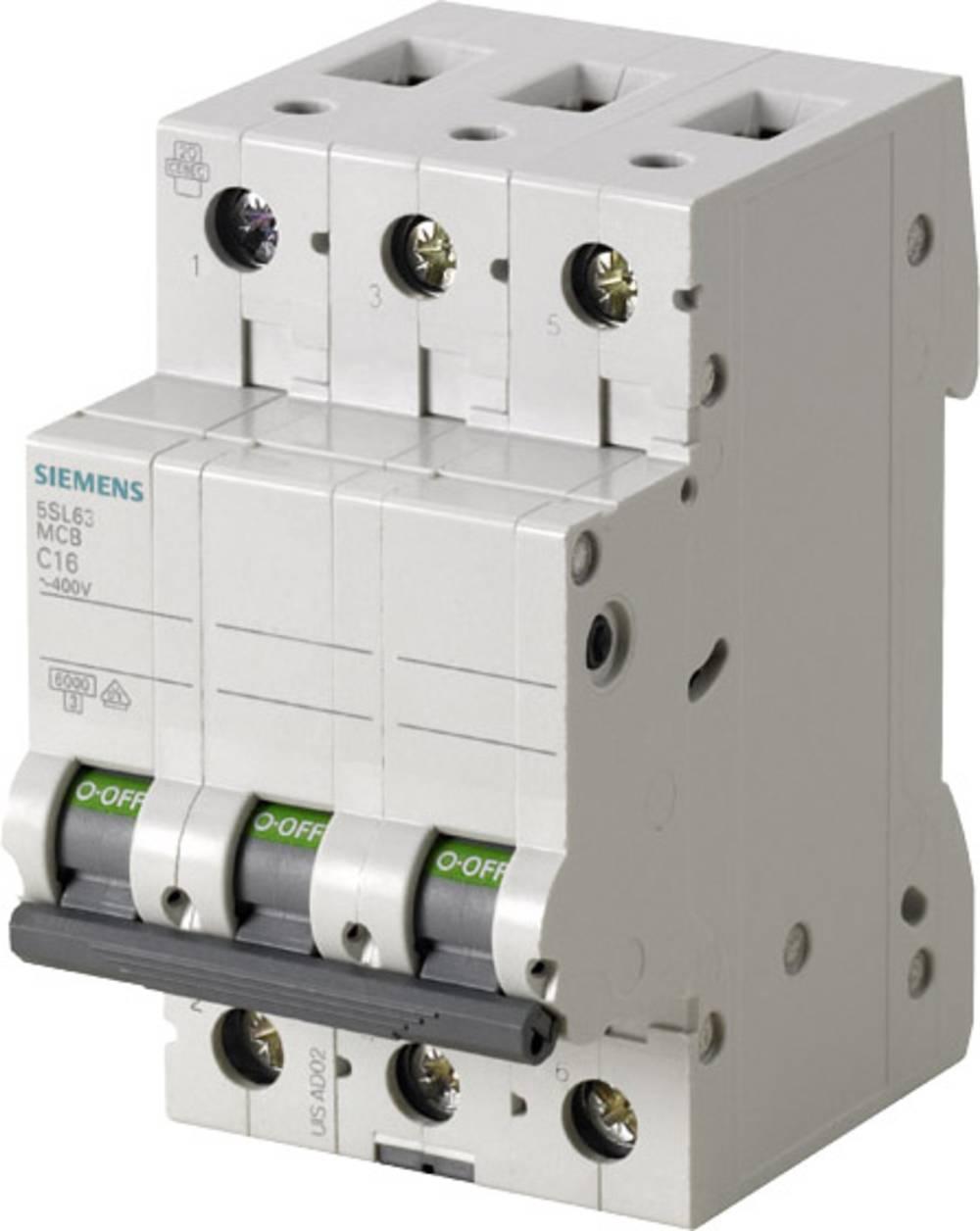 Instalacijski prekidač 3-polni 10 A Siemens 5SL6310-7
