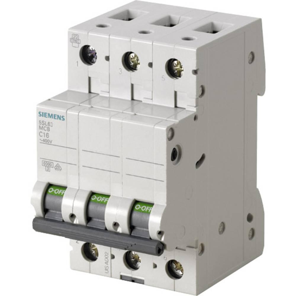 Inštalacijski odklopnik 3-polni 10 A Siemens 5SL6310-7