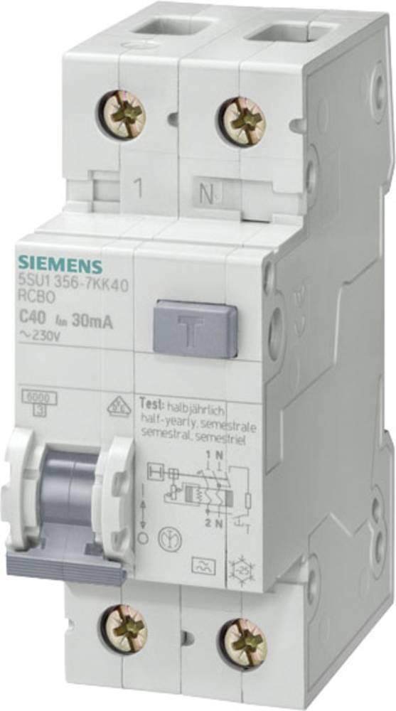 FID zaščitno stikalo 1-polno 20 A 0.03 A 230 V Siemens 5SU1356-6KK20