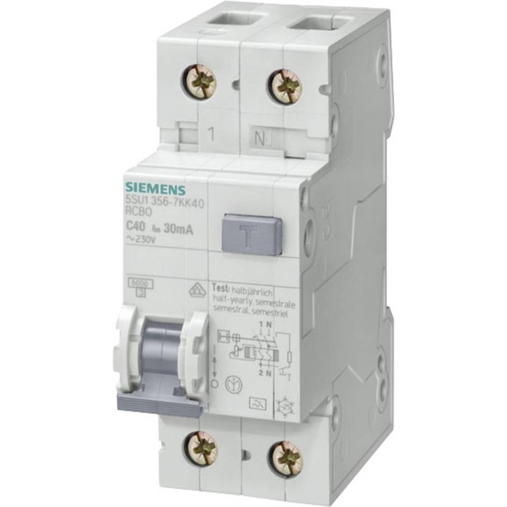 FI-sikkerhedsafbryder 1-polet 25 A 0.03 A 230 V Siemens 5SU1356-7KK25