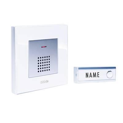 Image of m-e modern-electronics FG5.2 Wireless door bell Complete set
