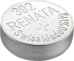 Knapcellebatteri 392 Sølvoxid Renata SR41adapté au courant fort 45 mAh 1.55 V 1 stk