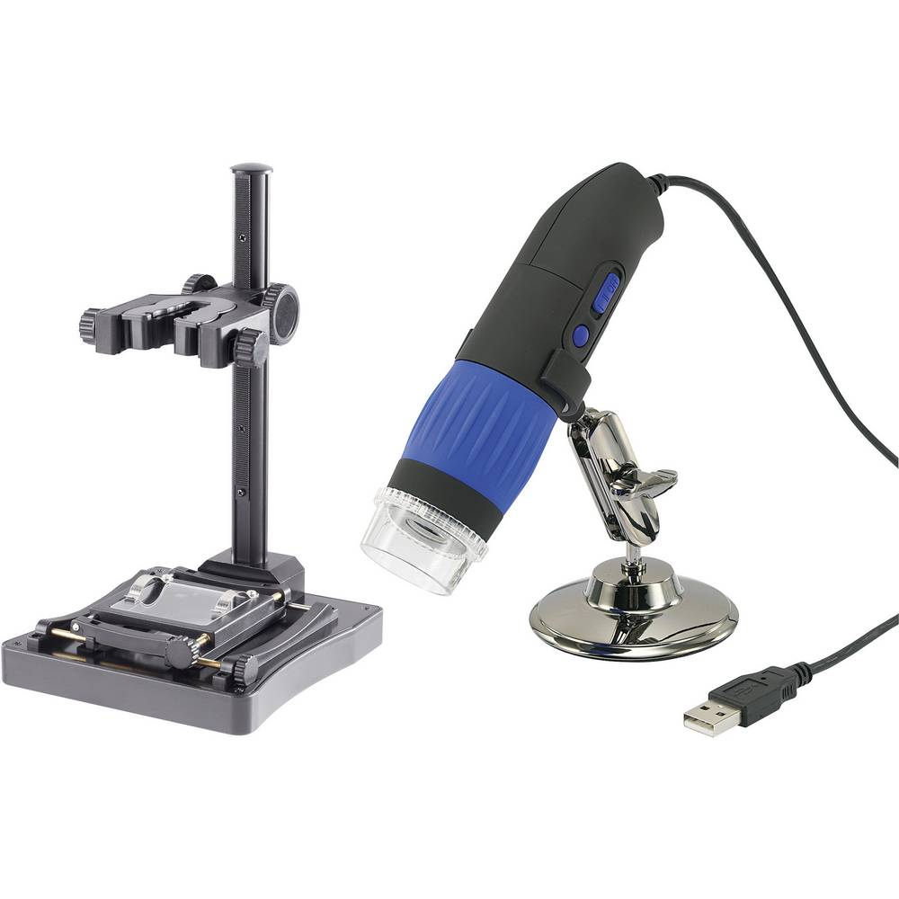 Digitalna mikroskopska kamera USB Conrad Components 9 mil. pikslov, digitalna povečava (maks.): 200 x