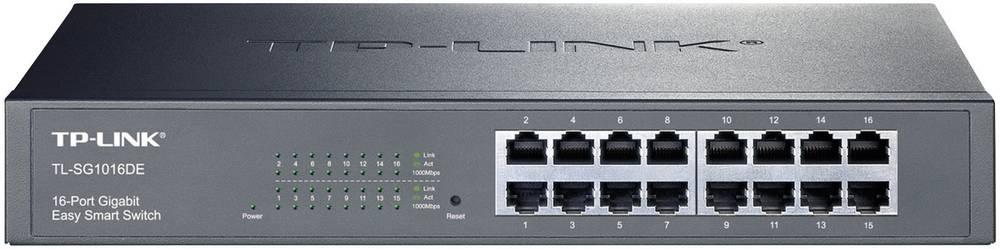 RJ45 omrežno stikalo TP-LINK TL-16 SG1016DE 16 vrat 1000 Mbit/s TL-SG1016DE
