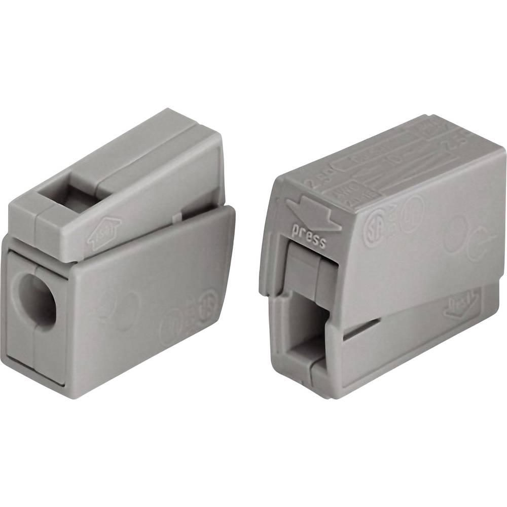 Električna sponka za svetilkoWAGO Prečni prerez maks. 2,5 mm2 24 A Siva 224-101