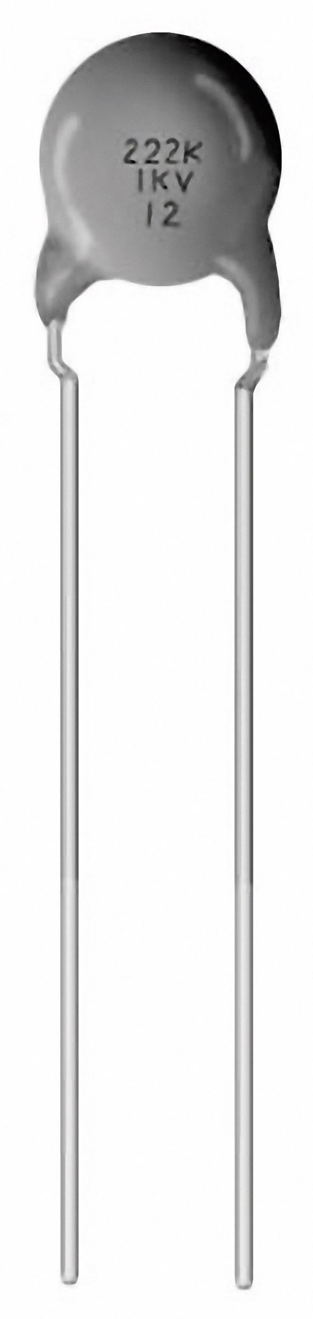 Keramički kondenzator 4.7 nF 1000 V 10 % Murata DEBF33A472ZN2A 1500 kom