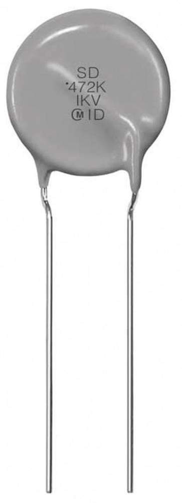 Keramički plosnati kondenzator 470 pF 250 V 10 % Murata DE1B3KX471KB4BL01 500 kom.
