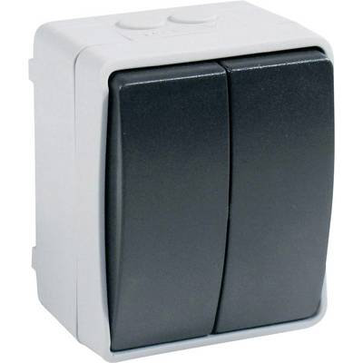 Image of GAO 9875 Wet room switch product range Series switch Standard Grey