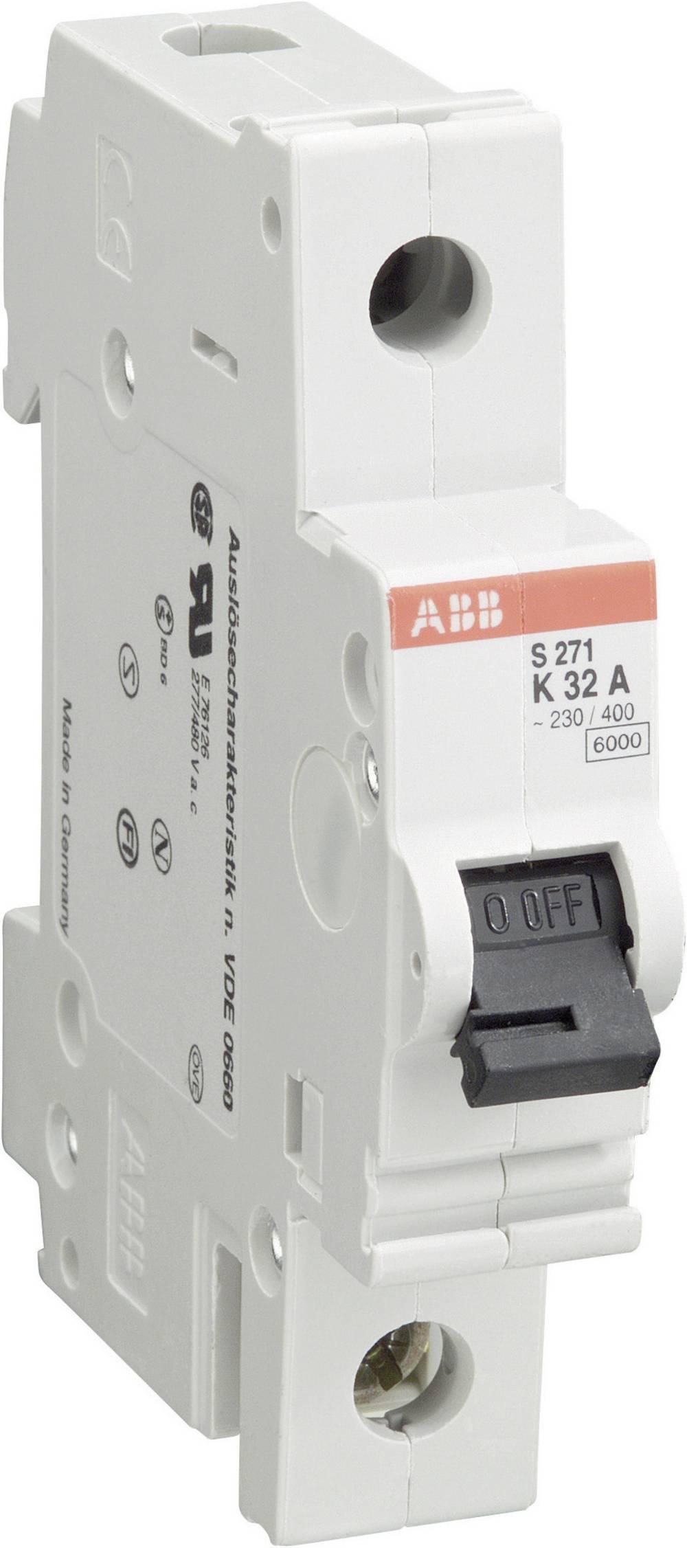 Instalacijski prekidač 1-polni 32 A ABB 2CDS251001R0324