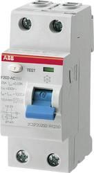 FI-sikkerhedsafbryder 2-polet 25 A 0.03 A 230 V ABB 2CSF202101R1250