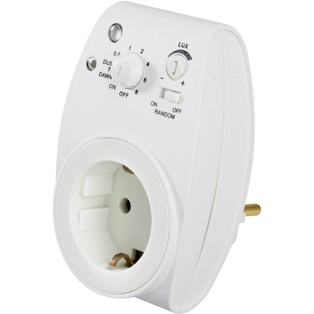 Timer With Dimmer Switch White