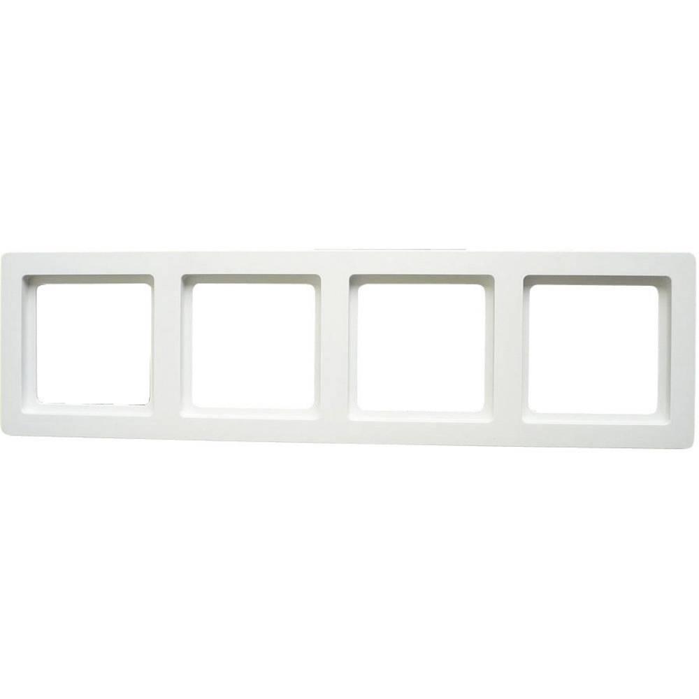 Berker 4 x Frame Q.1 Polar white from Conrad.com