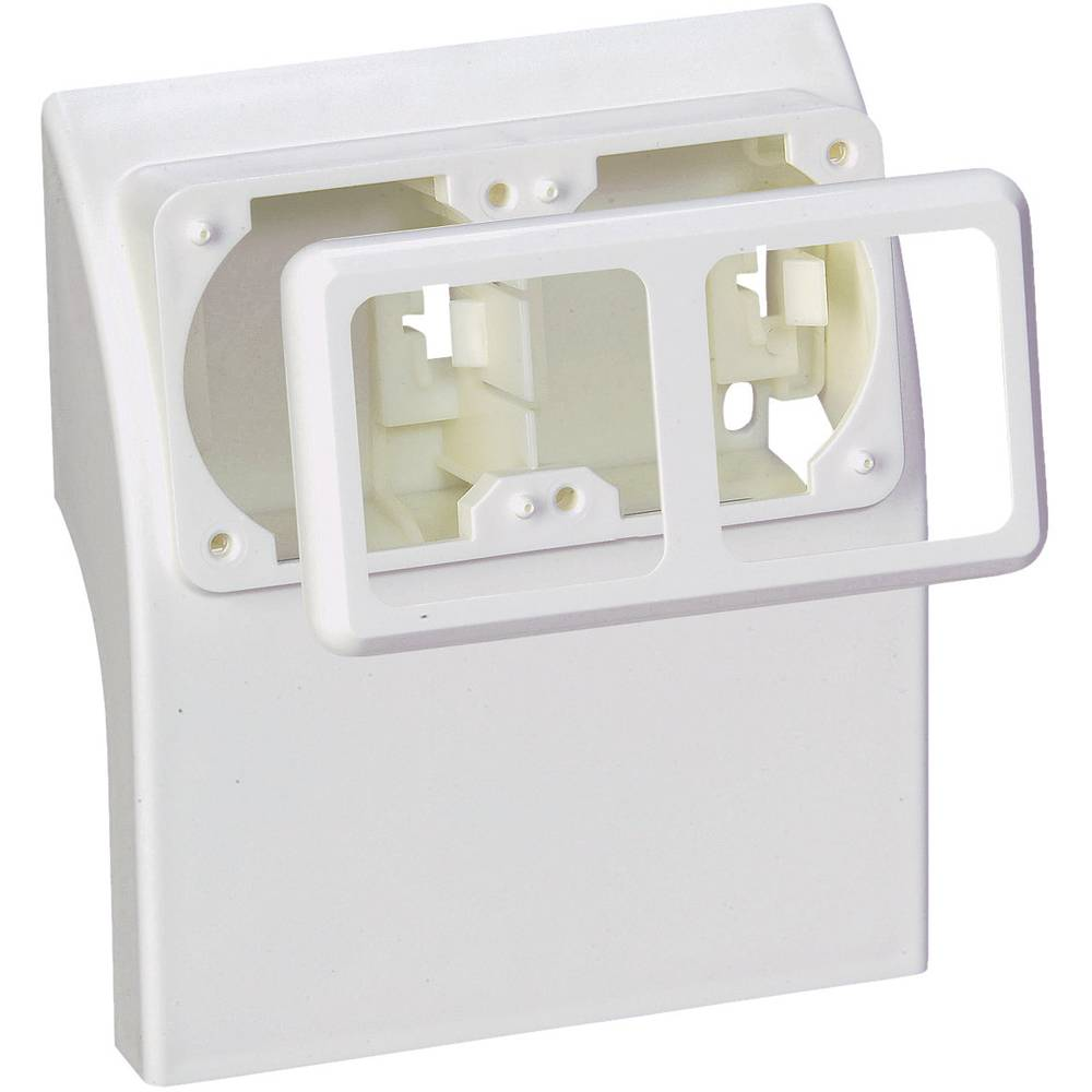 Skirting Board Socket Inset 75581 White From Wiring