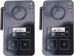 m-e modern-electronics FS 2 1 Door phone Radio 446 MHz 2000 m Black