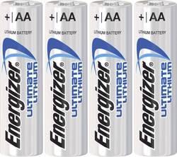 Batteri R6 (AA) Litium Energizer Ultimate LR06 3000 mAh 1.5 V 2 st