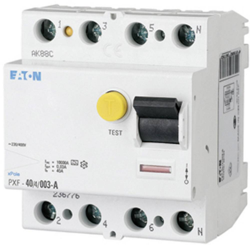FID zaščitno stikalo 4-polno 25 A 400 V Eaton 236772