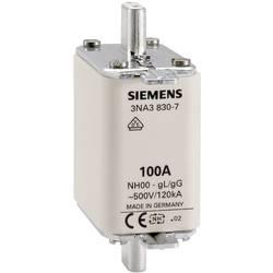 NH-sikring Sikringsstørrelse = 000 100 A 500 V/AC, 250 V/AC Siemens 3NA3830