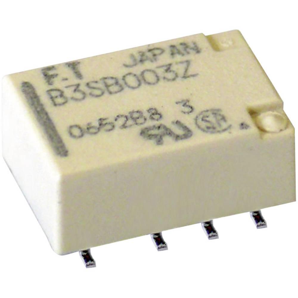 Signalni rele FTR-B3, SMD Takamisawa FTR-B3SA012Z 12 V/DC 2 zapiralo 2 A 30 V/DC/125 V/AC 62.5 VA/ 30 W Fujitsu