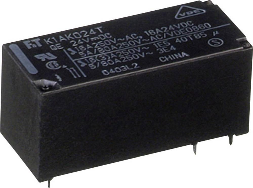 Omrežni rele FTR-K1 Fujitsu FTR-K1AK012T 12 V/DC 1 zapiralo 16 A 300 V/DC/ 440 V/AC 4000 VA/ 384 W
