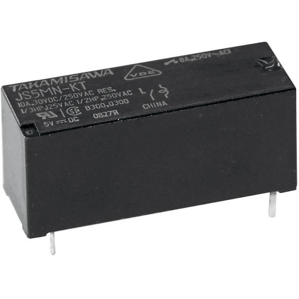 Miniaturni močnostni rele JS-12N-K 12 V/DC 1 x izklopni kontakt maks.10 A maks.150 V/DC/40 Fujitsu