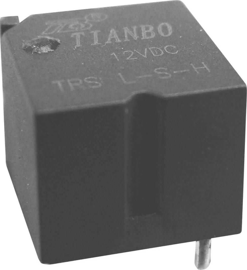 Printrelæ 12 V/DC 40 A 1 x skiftekontakt Tianbo Electronics TRS-L-12VDC-S-Z 1 stk