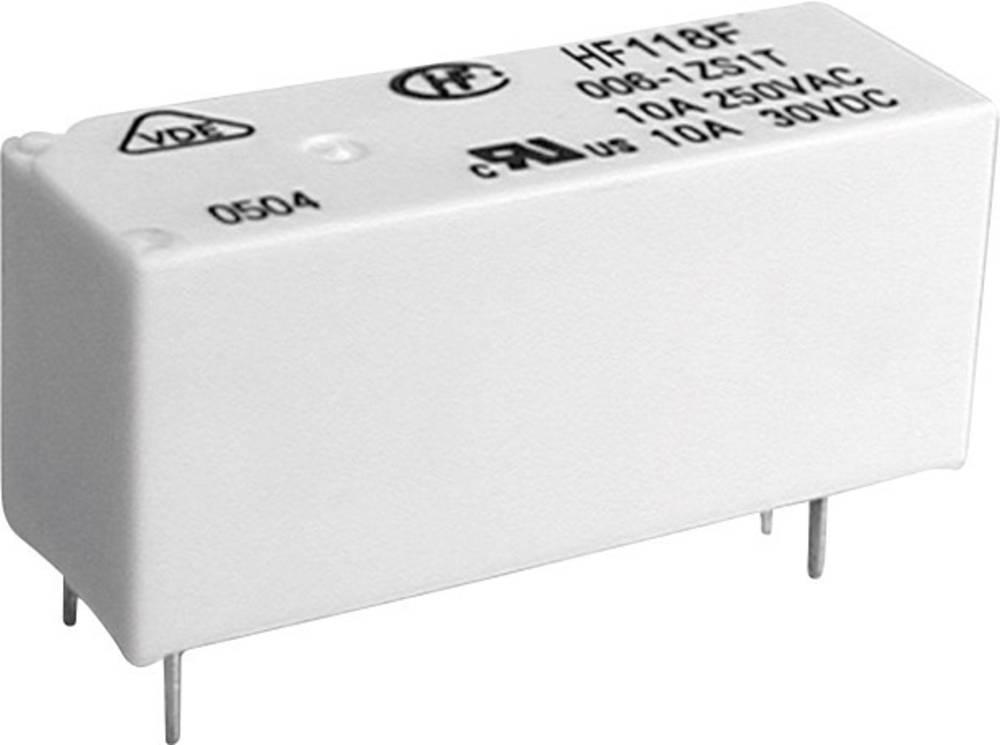 Močnostni rele HF118F HF118F/024-1HS5(136) 24 V/DC 1 zapiralni 8 A 125 V/DC/ 440 V/AC 2500 VA/ 300 W
