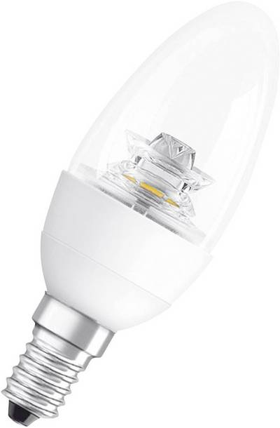 Image of OSRAM LED E14 Candle 6 W = 40 W Warm white (Ø x L) 39 mm x 144 mm EEC: A+ dimmable 1 pc(s)