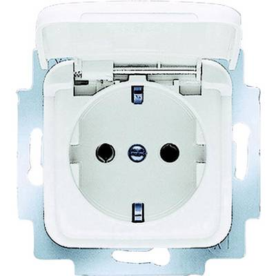 Image of Busch-Jaeger Insert PG socket (+ lid) Reflex SI, Reflex SI Linear Alpine white