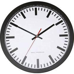 56805 Radio Wall clock 30 cm Black