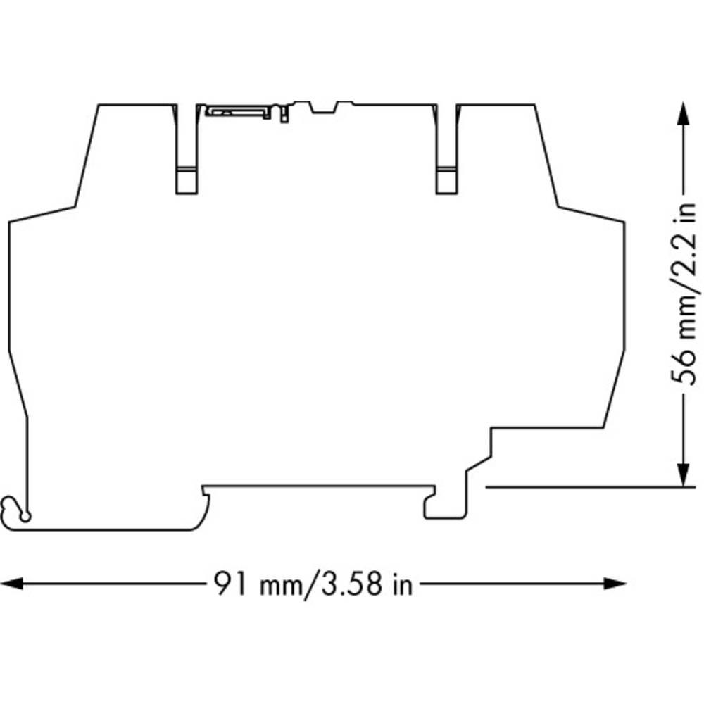 Optokopler rele 1 kos WAGO 859-740