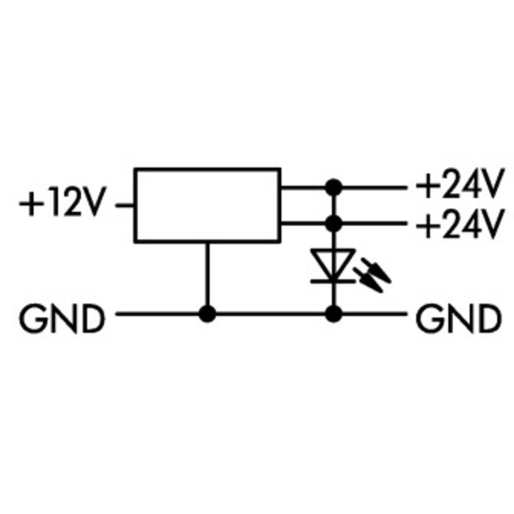DC-DC-omformer 1 stk WAGO 859-804 8 - 16 V/DC