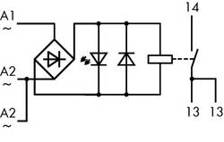 Industrirelæ 1 stk WAGO 789-520 Nominel spænding: 24 V/AC Brydestrøm (max.): 16 A 1 x sluttekontakt