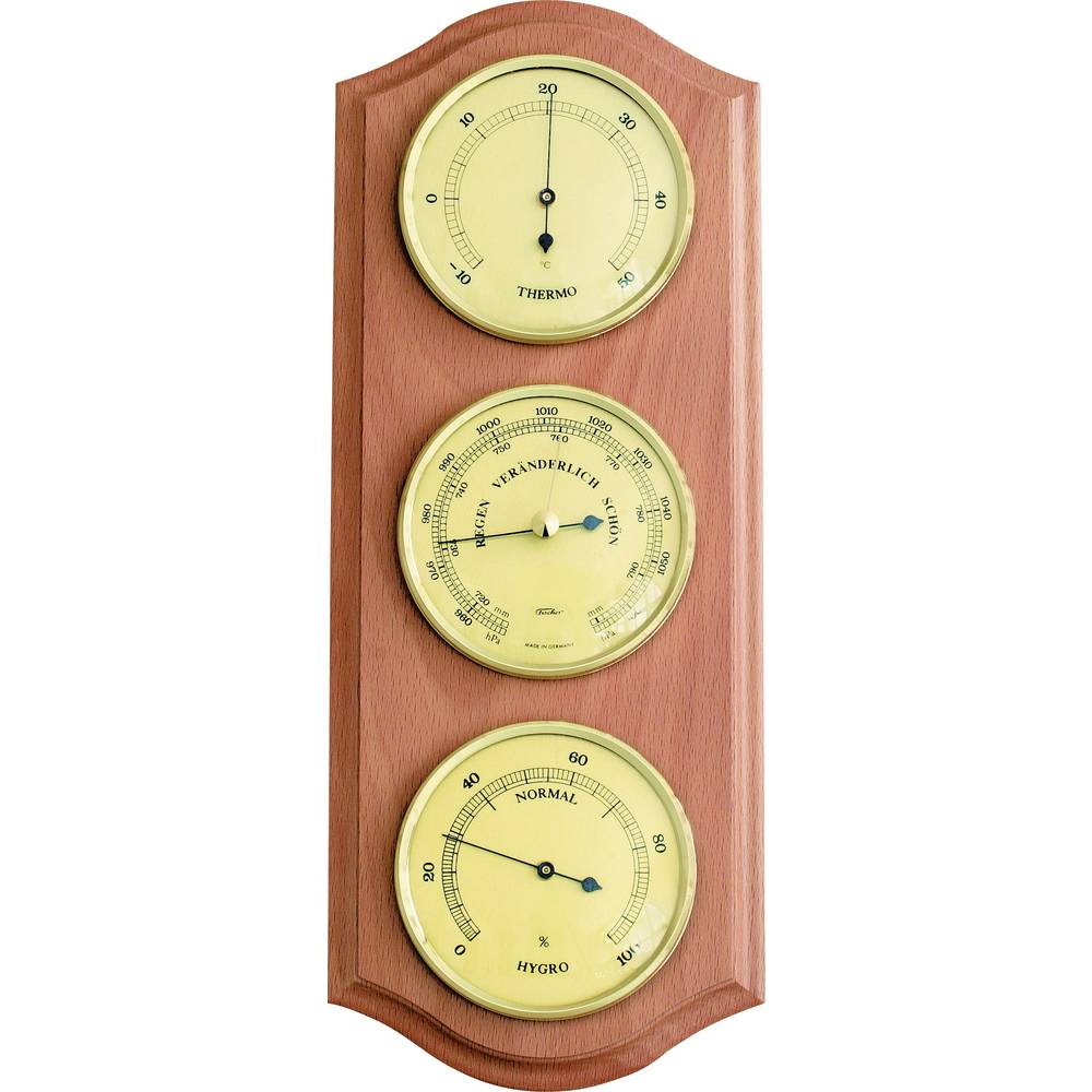 Analog weather station Fischer Wetter 53415 Forecasts for 12 to 24 hours