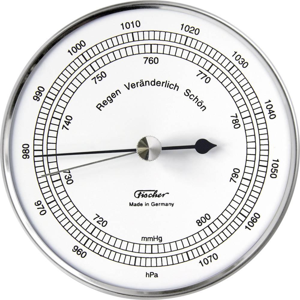 Stenski barometer 528201 iz nerjavečega jekla