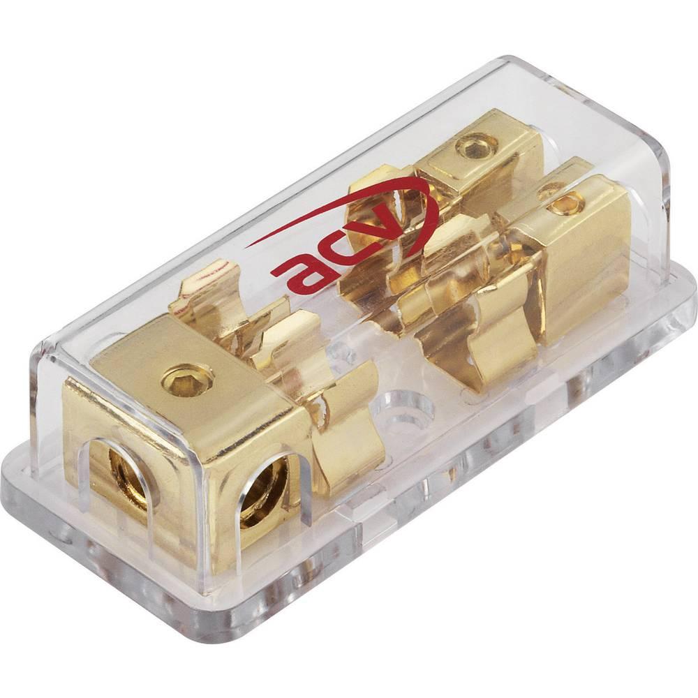 Razdelilni blok za varovalke 1 na 2 prečni prerez kabla: 10/20 mm2 AGU varovalka (steklena) 10,3 x 38,1 mm