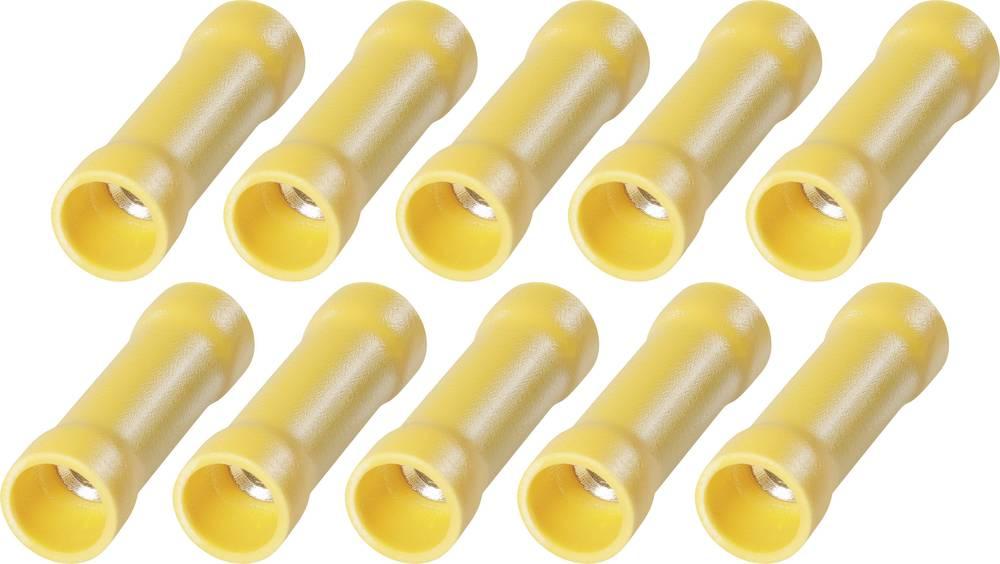 Butt stik med PVC isolering Fuld EHP 6 Stødforbinder Poltal 1 10 stk