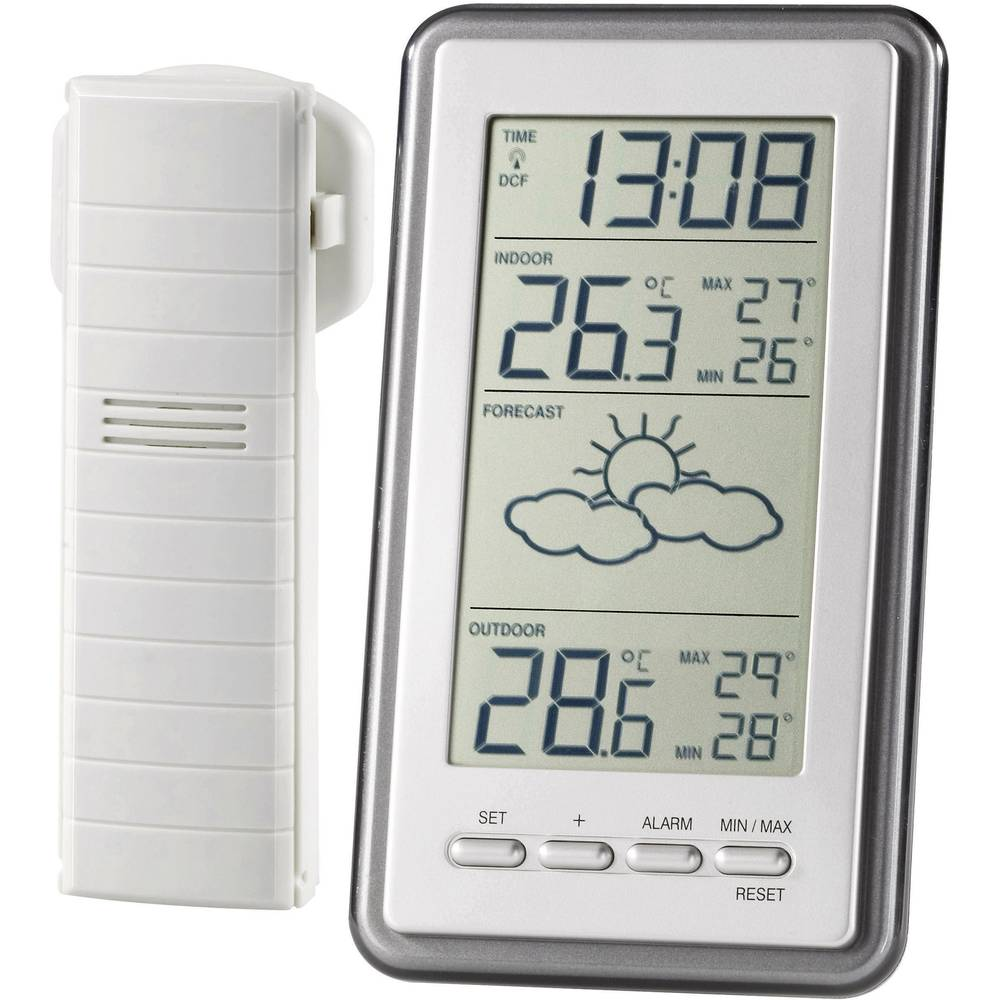 ws 9130 it wireless digital weather station forecasts for 1 day from