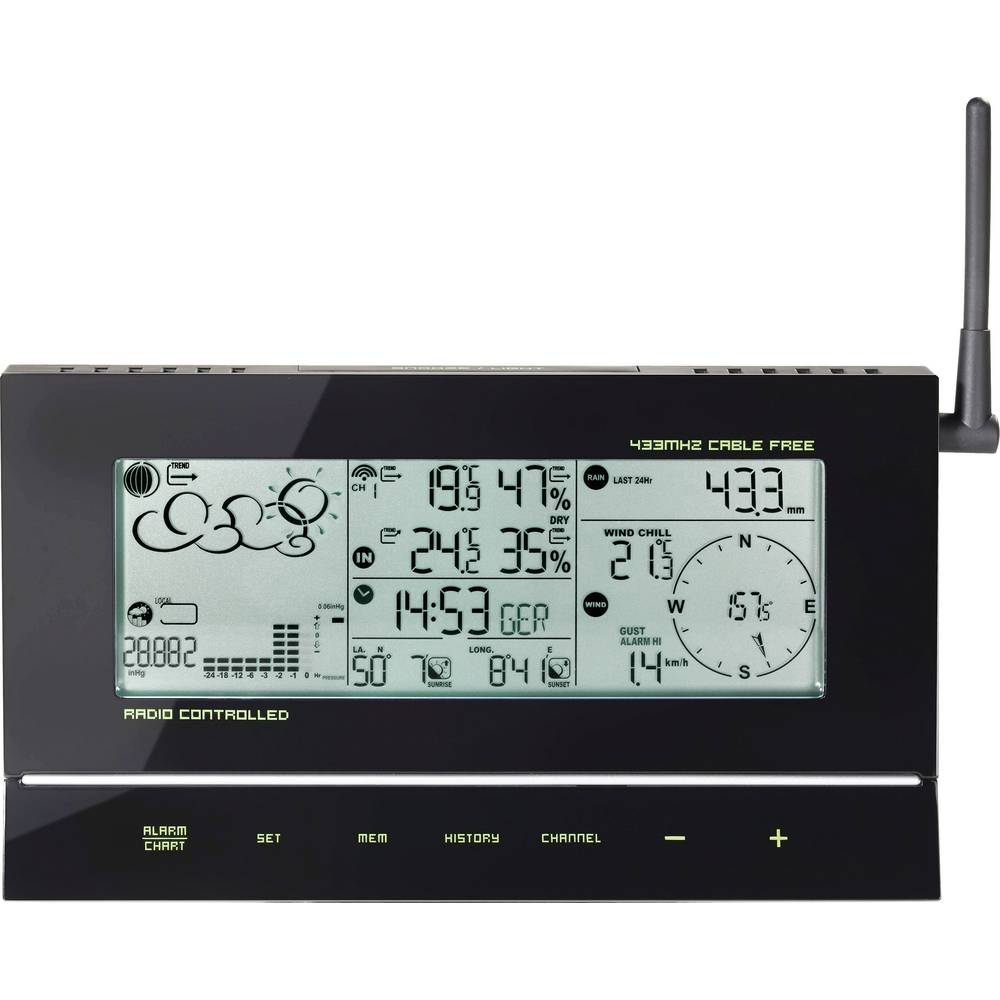 wireless digital weather station te857 646510 forecasts for 12 to 24