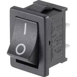 Vippekontakt Mini-Wippenschalter MRS-101-C3 1xEin 1 stk