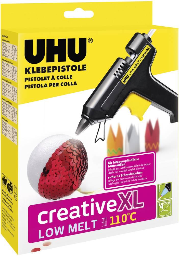Lepilna pištola UHU Creative XL Low Melt, 48615, 110 °C, 3-5 min