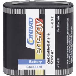 Fladt batteri Zink-kul Conrad energy 3LR12 2000 mAh 4.5 V 1 stk
