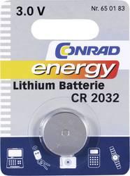 Knappcell CR 2032 Litium Conrad energy CR2032 200 mAh 3 V 1 st