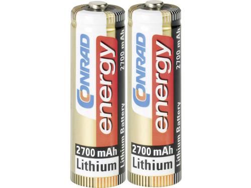 AA batterij (penlite) Conrad energy Extreme Power LR06 Lithium 1.5 V 2 stuks